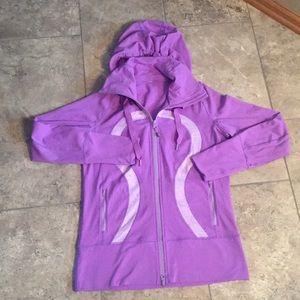 Purple Lululemon Zip Up with Hood